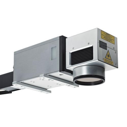 fiber laser marking machine / for integration / high-speed / air-cooled