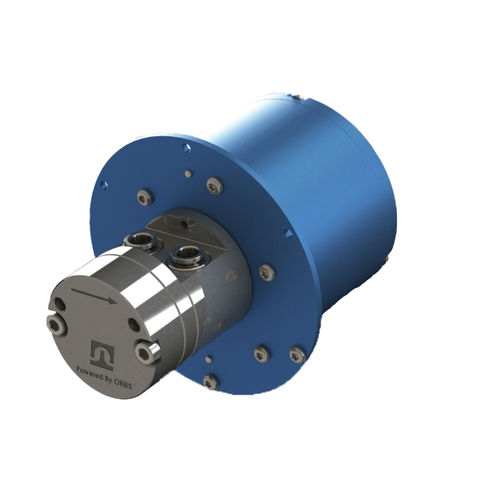 chemical pump / brushless DC / external-gear / industrial