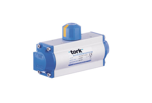pneumatic valve actuator / rotary / butterfly / ball