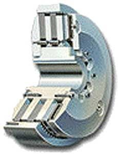 multiple-disc clutch / pneumatic / air-cooled / for marine applications