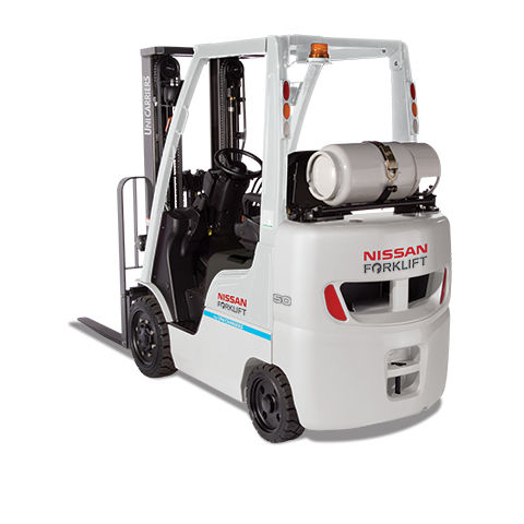 cushion tire forklift / LPG / gas / ride-on