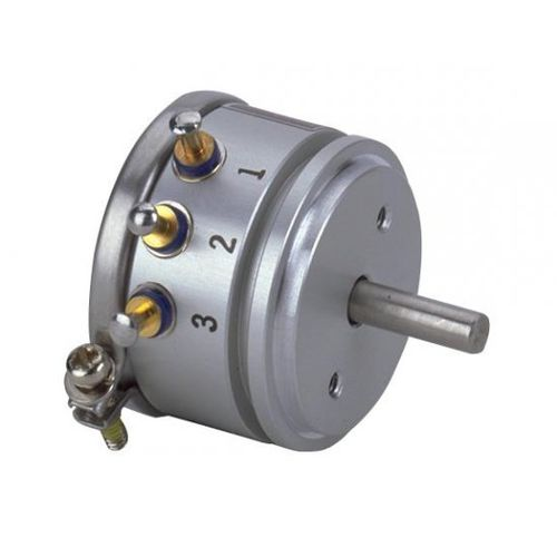 rotary potentiometer / single-turn / motorized / wire-wound