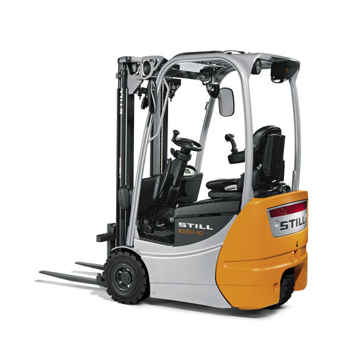 electric forklift / ride-on / indoor / outdoor