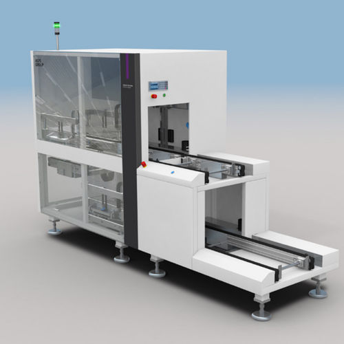 automated materials handling system / modular / electronic equipment / tray