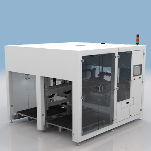 automatic materials handling system / electronic equipment / tray / process