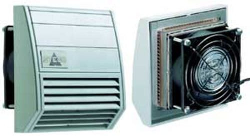 wall-mounted fan / for electrical cabinets / axial / cooling