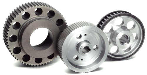 toothed pulley / timing belt