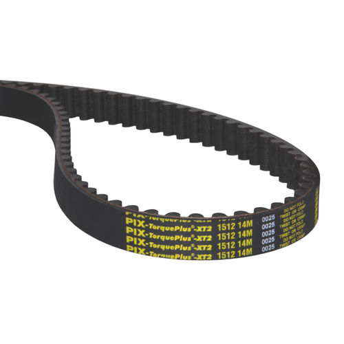 toothed belt / rubber / industrial / for the textile industry
