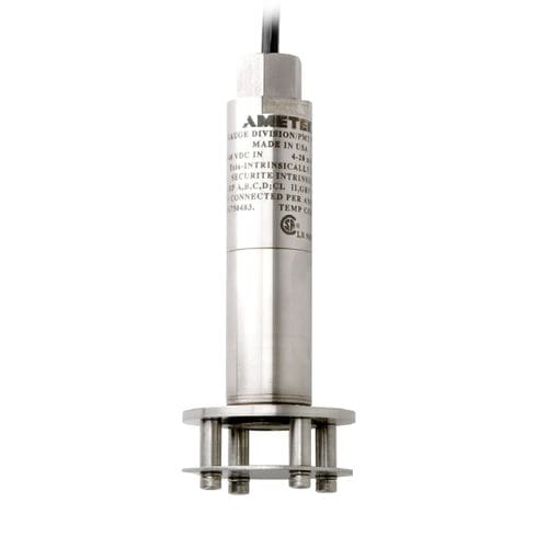 hydrostatic level transmitter / for liquids / stainless steel / 4-20 mA