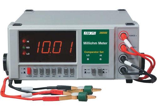 digital milliohmmeter / bench-top / 4-wire