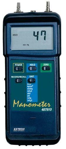digital pressure gauge / differential / portable
