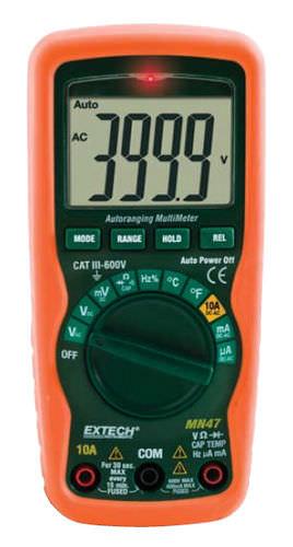 digital multimeter / portable / 600 V / 10 A