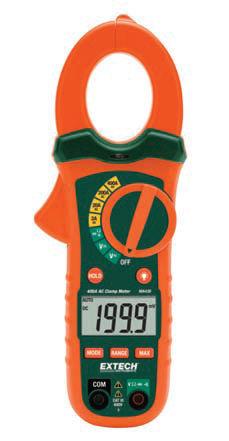 digital clamp multimeter / portable / 600 V / 400 A