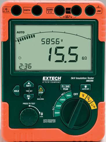 insulation tester / battery