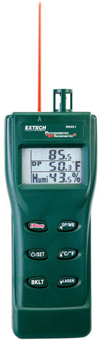 digital psychrometer / hand-held / dew-point