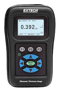 coating thickness gauge / ultrasonic / ultra-rugged