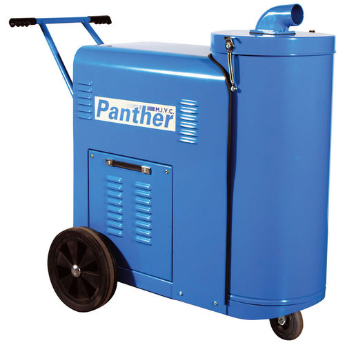 waste vacuum cleaner / electric / compressed air / with combustion engine