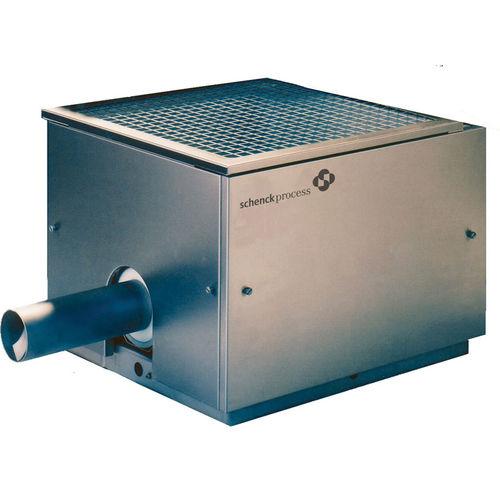 volumetric feeder / continuous / for bulk materials / compact