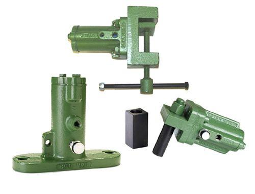 pneumatic vibrator / for hoppers / piston
