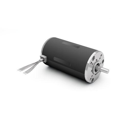 DC motor / brushless / 24V / with brake