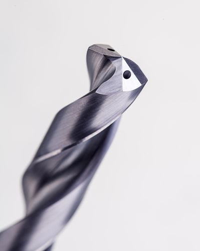 solid drill / for stainless steel / carbide