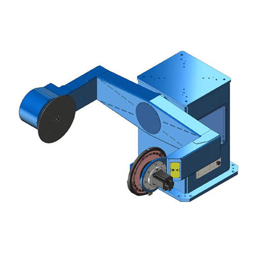 motorized positioner / rotary / 2-axis / for robots