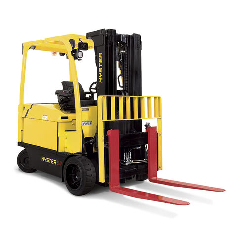 electric forklift / ride-on / for the food industry / for the beverage industry