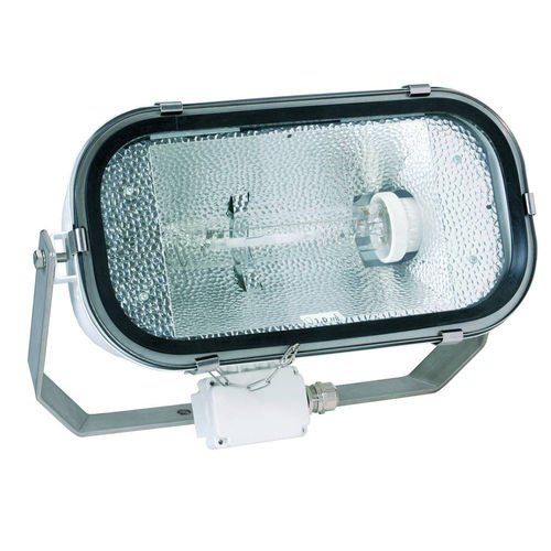 discharge lamp floodlight / metal-halide / IP67 / stainless steel