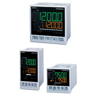 temperature indicator controller / LCD display / panel-mount / for RTD sensors