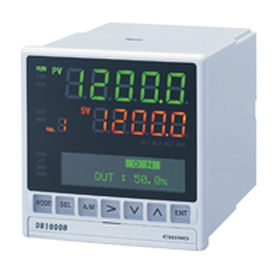 temperature indicator controller / LCD display / with LED display / for RTD sensors
