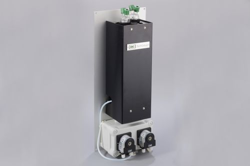 gas cooler / for samples / forced convection