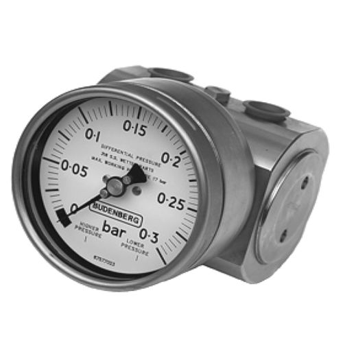 dial pressure gauge / bellows / differential / process