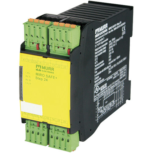 safety relay / 3 NO / 1 NC / DIN rail
