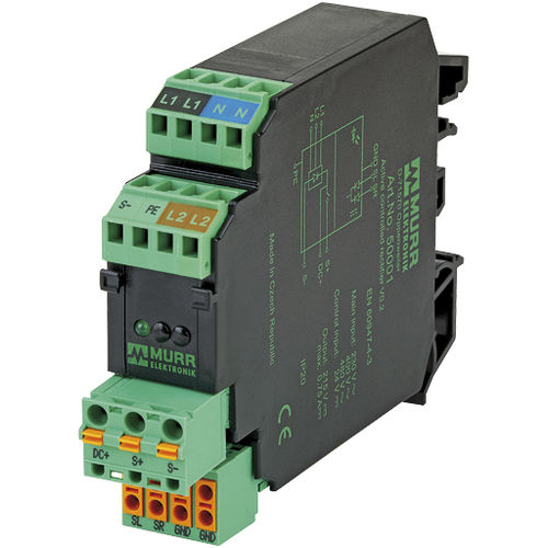 AC/DC power supply / DIN rail / for clutch and brake controls / digital