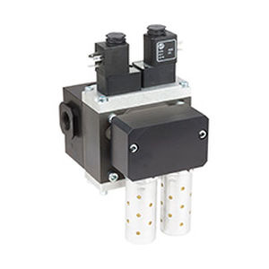 direct-operated solenoid valve / 3/2-way / NC / air