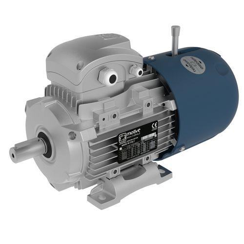self-braking motor