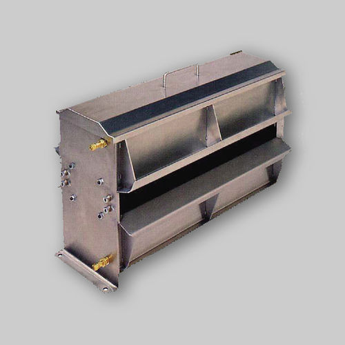 enclosed paint booth / for parts / filter
