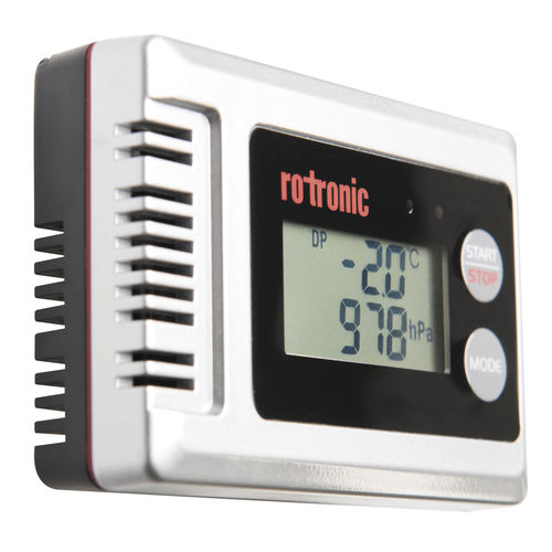 temperature and humidity data-logger / relative humidity / dew-point / pressure