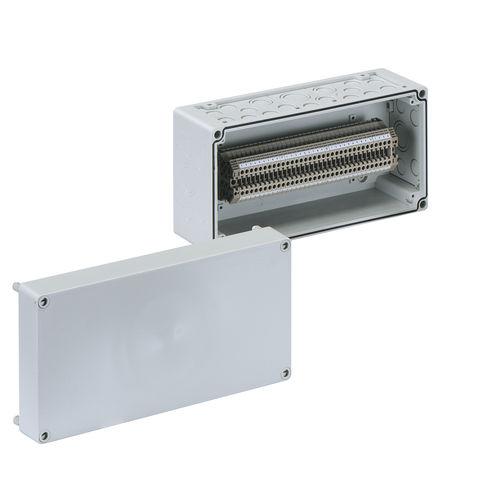 wall-mount enclosure / modular / polystyrene / screw cover