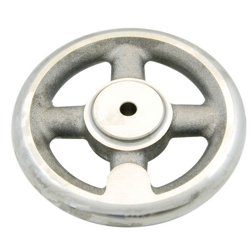 operating handwheel / spoked / steel / cast iron