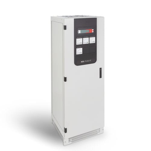 double-conversion UPS / three-phase / industrial / redundant