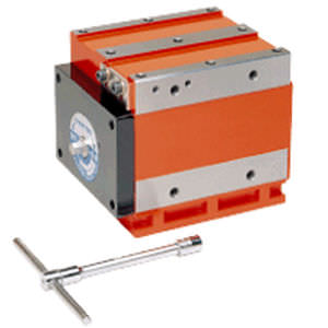 magnetic holding block
