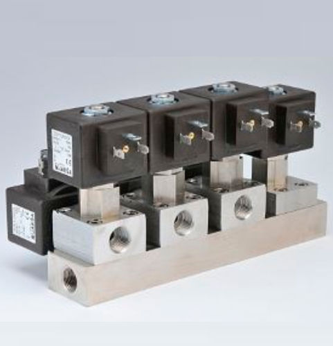 pilot-operated solenoid valve