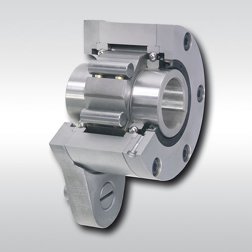 one-way roller clutch / full-face / with internal bearings / backstop