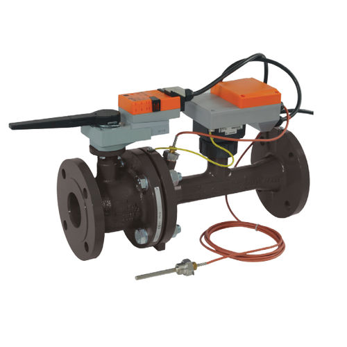 regulating valve / for water / pressure-independent / with power control