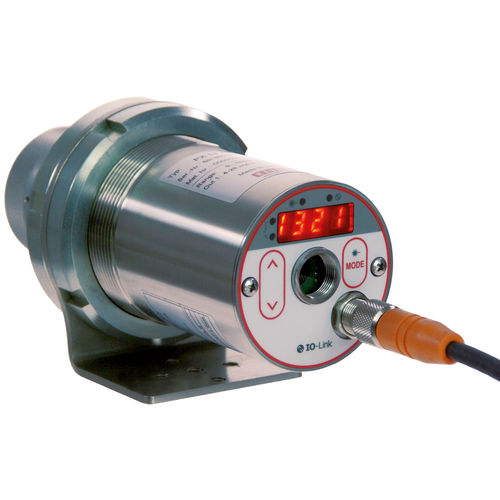 digital infrared pyrometer / fixed / IO-Link / industrial