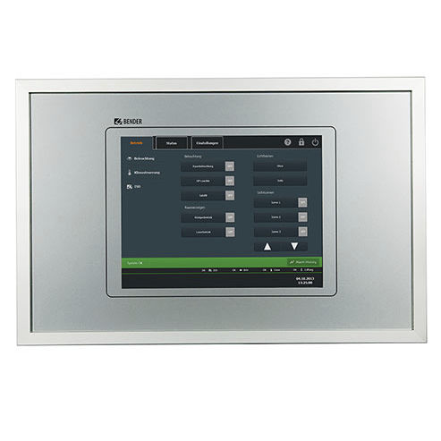 terminal with touch screen / panel-mount / 1024 x 768 / ARM Cortex