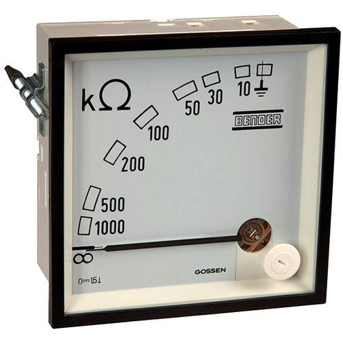 insulation resistance measuring instrument