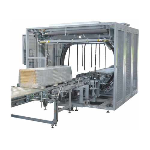 rotary ring stretch wrapper / automatic / for furniture / stretch film