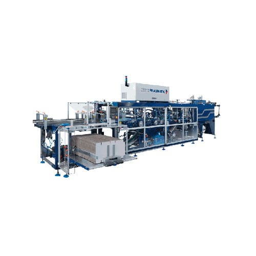 wrap-around cartoner-sleeve wrapping machine / for the food industry / automatic